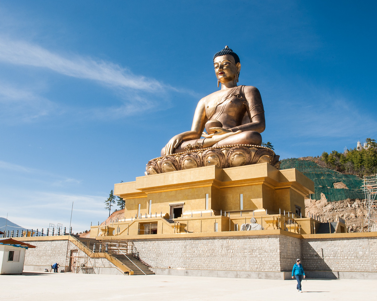 World's Tallest Buddha Statue at 170 Feet, Thimphu, Bhutan