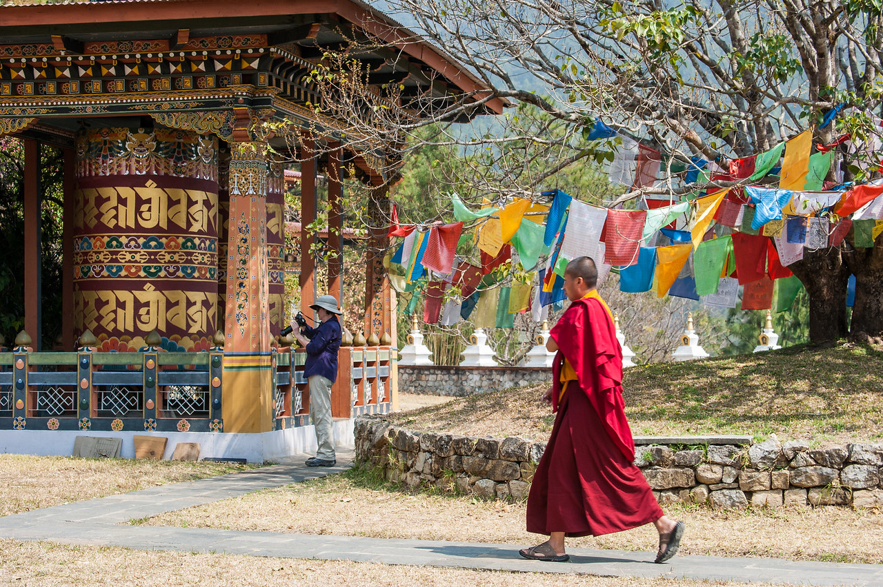 Namgyal Chorten, Temple Dedicated to the Well-being of the Kingdom