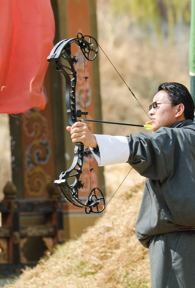 Modern Archer, Thimphu, Bhutan
