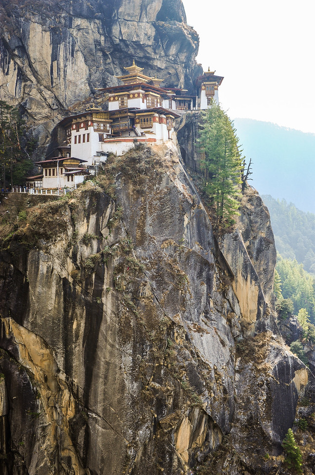 Taktsang Monastery also known as Tiger's Nest