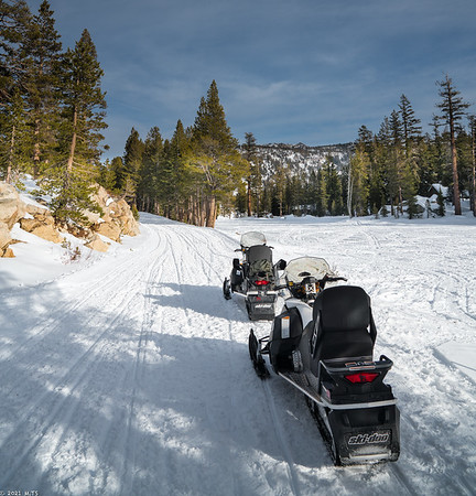 Alpine State Highway in January