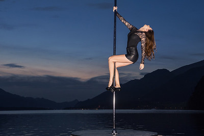 Poledance am Wolfgangsee