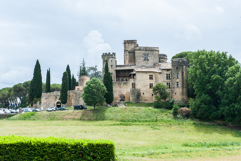 Castle at Lourmarin