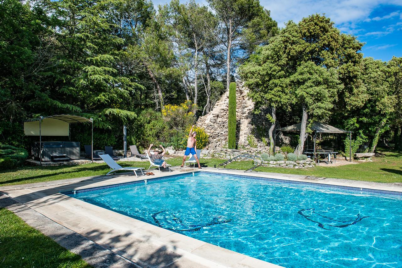 La Clapassina Villa in Bonnieux