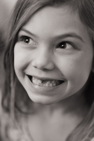Maggie's smile (same tooth, same age as Ari)