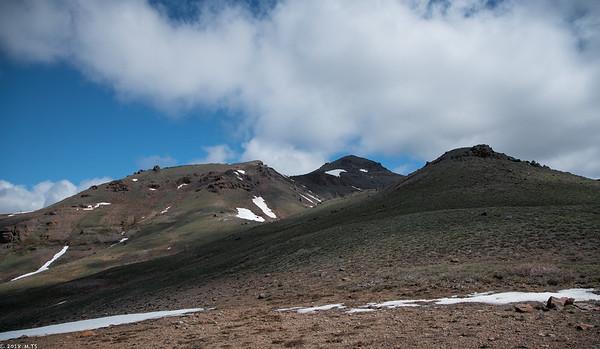 Climbing the Red Lake Peak