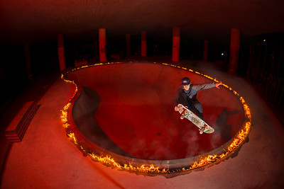 Ring of Fire Skateboard Projekt 2017