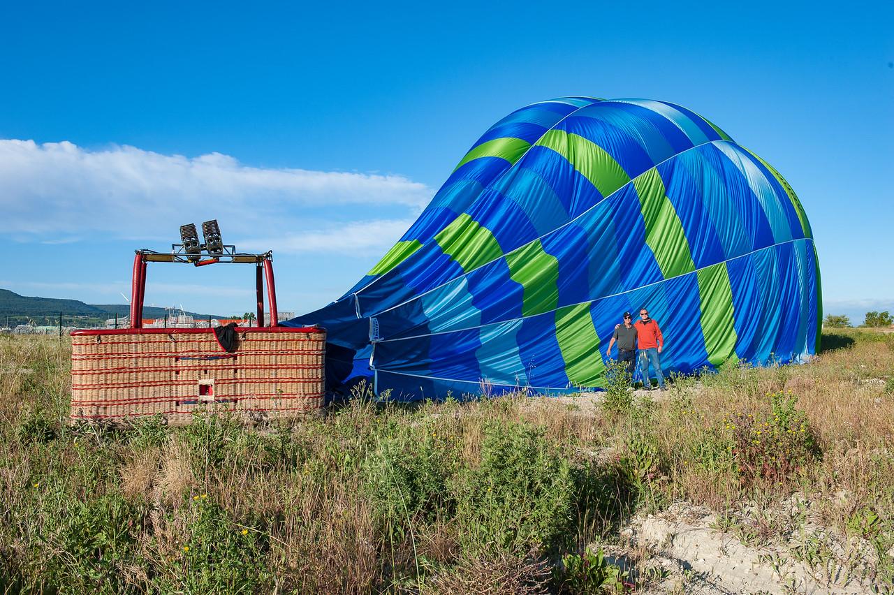 Hot Air Balloon Ride over Roussillon Area
