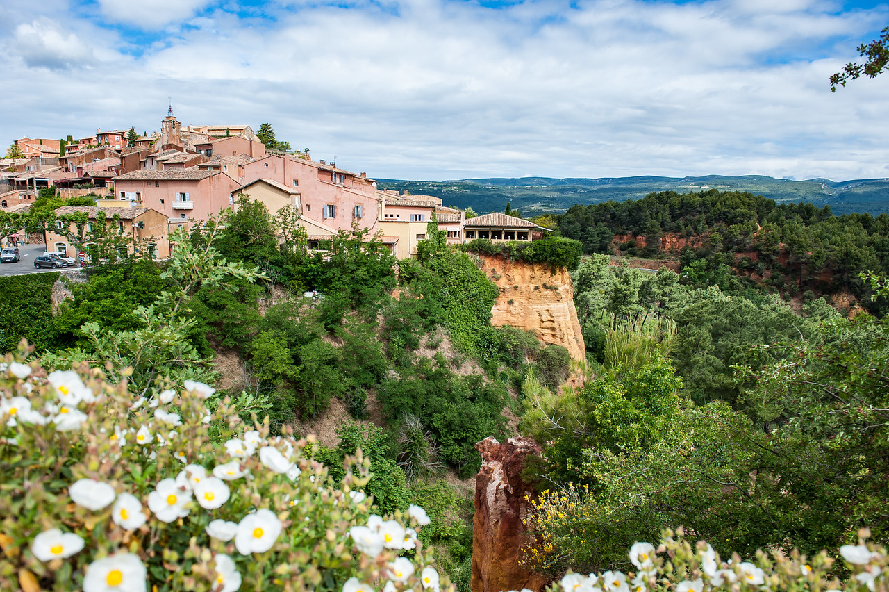 Ochre Hills of Roussillon