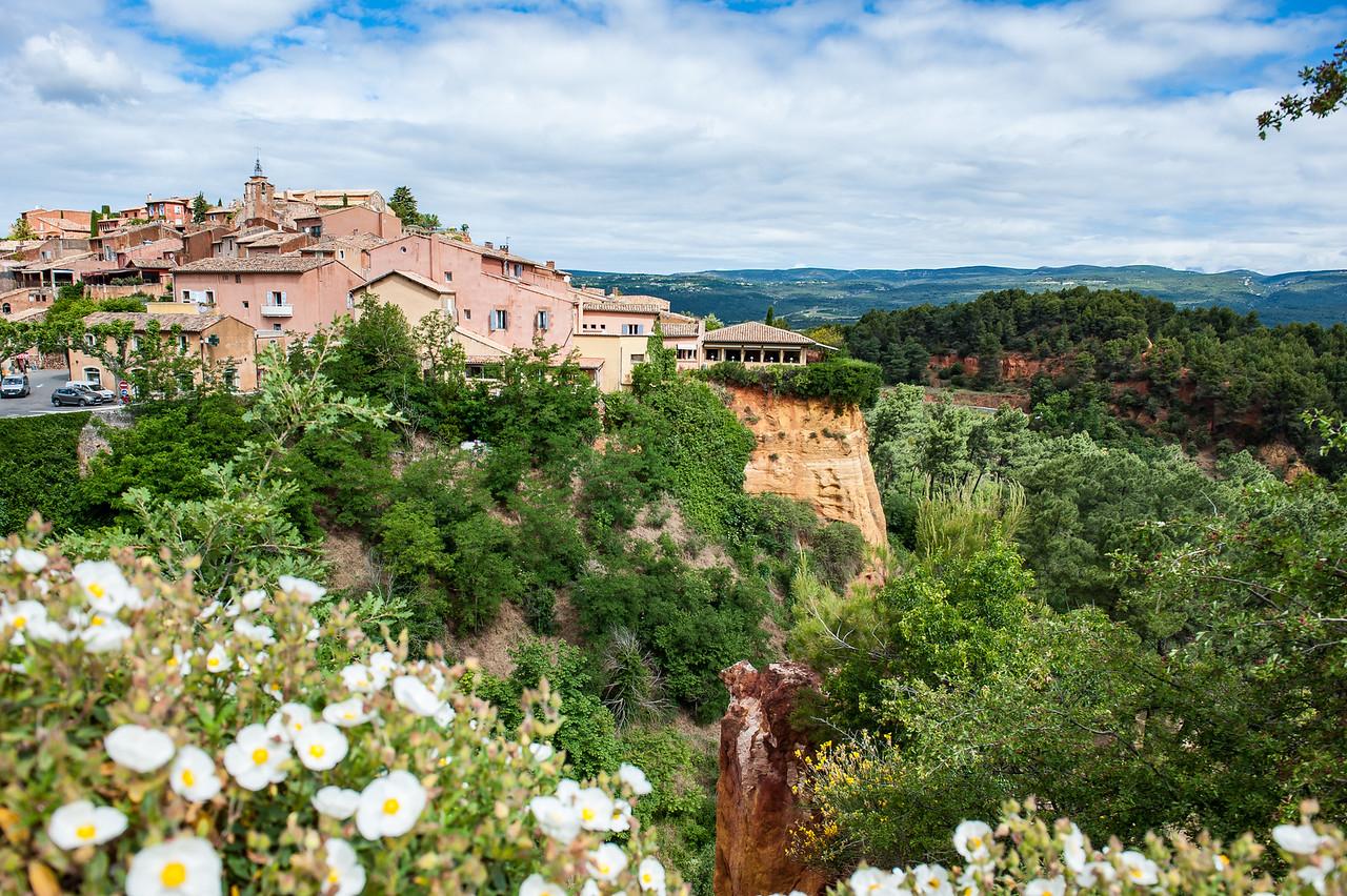 Ochre Hills of Roussillon