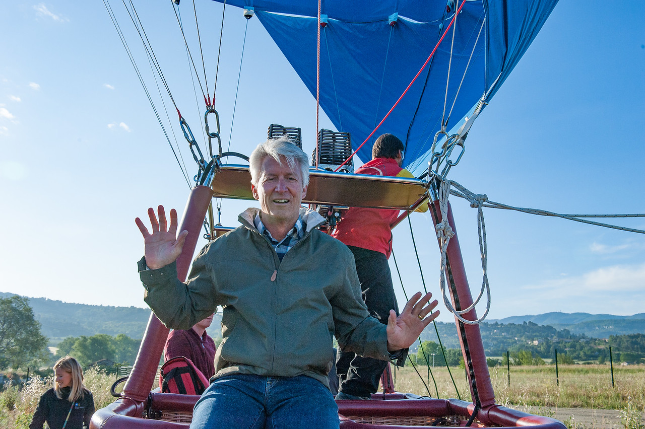 Hot Air Balloon Ride over Roussillon Area