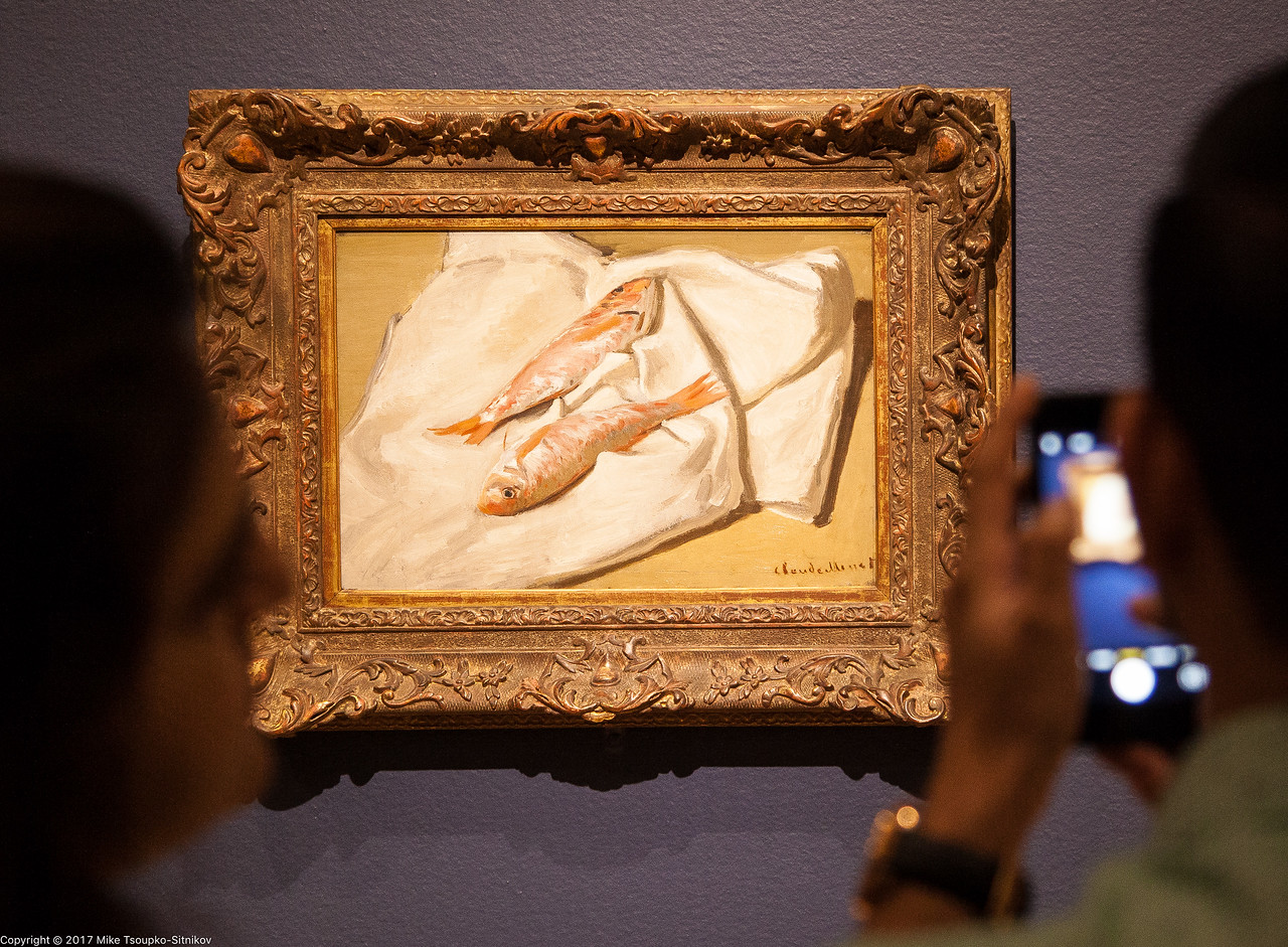 Monet Exhibition at Legion of Honor Museum