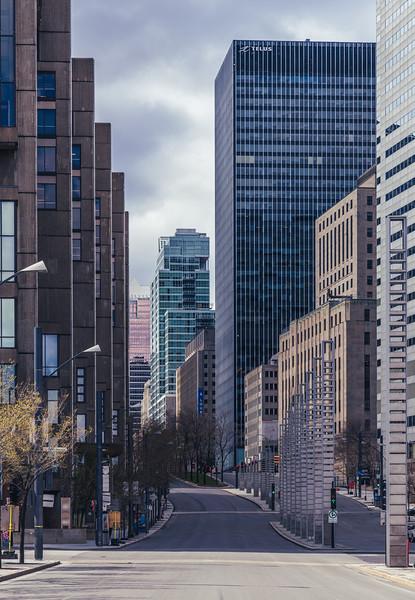 🇨🇦 Empty Roads | Montréal