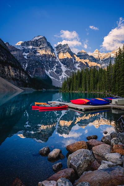 🇨🇦🛶 Moraine Lake | Banff