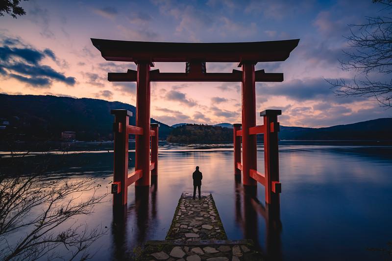 🇯🇵⛩  Hakone Shrine Peace Torii | Kanagawa
