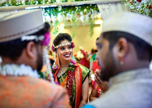 That million dollar bride's smile