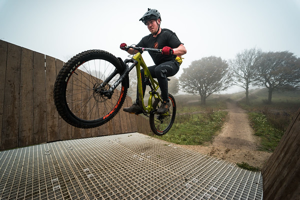 George Brown at Leeds Urban Bike Park