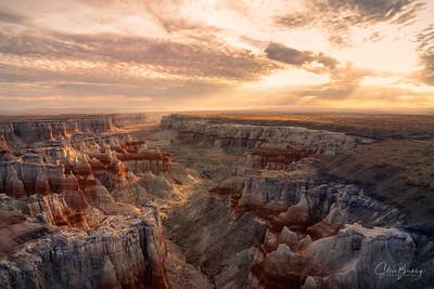 Coal Mine Canyon Sunrise IX