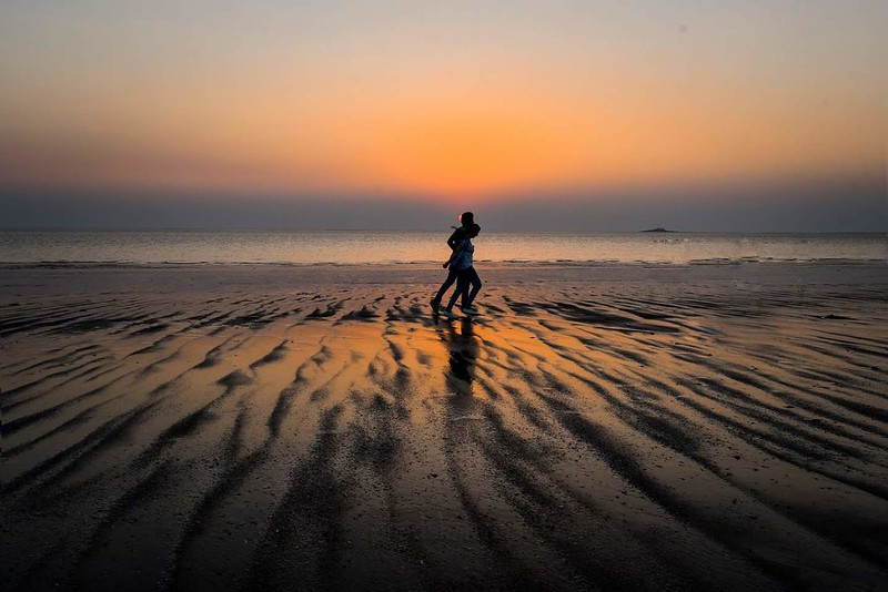 Through sunrises & sunsets...