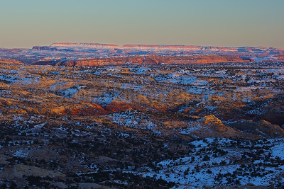 Sunset at Grand Staircase-Escalante NM