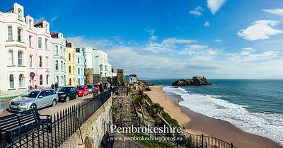 Tenby, Mothering Sunday.