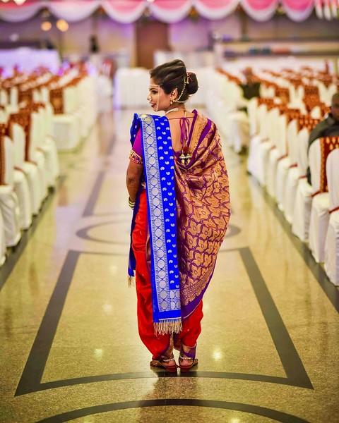 Majestic maharashtrian bride
