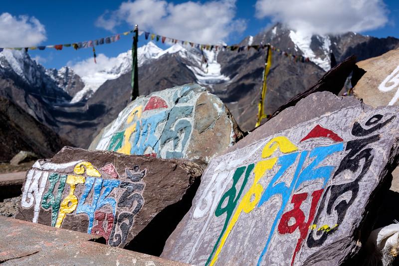 Mani Wall - Kunzum La 4590m