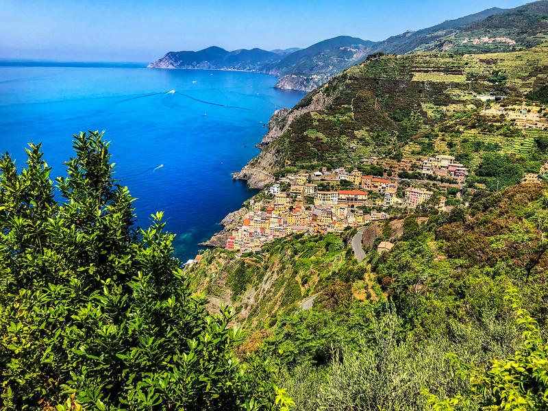 Riomaggiore from Above_Cinque Terredip_2780 copy