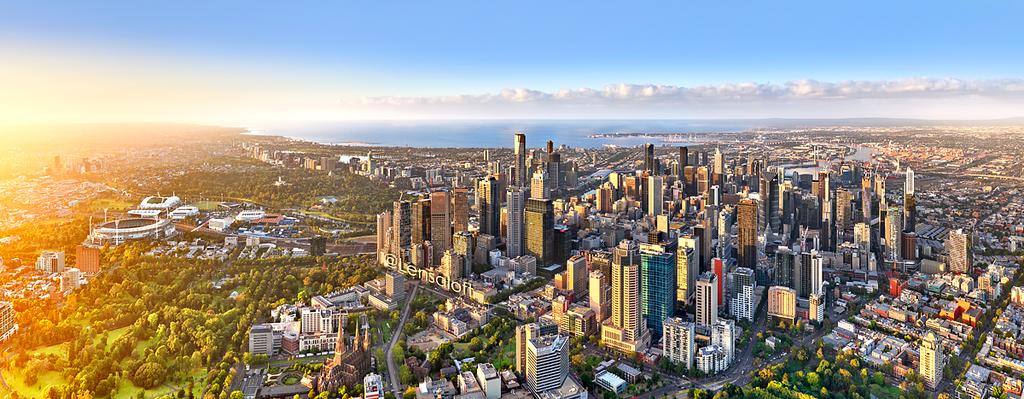 Melbourne Sunrise Panorama
