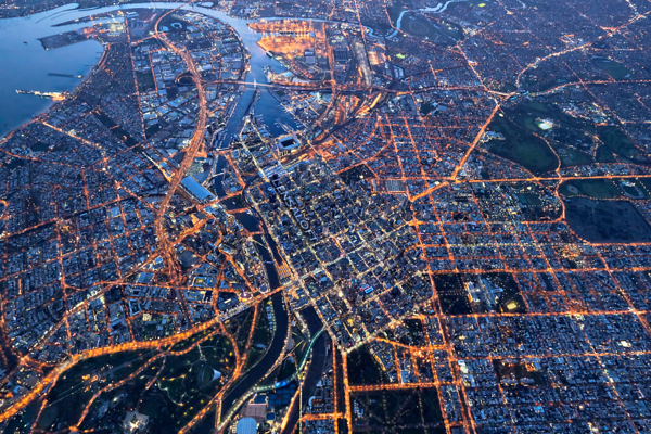 Melbourne City Grid