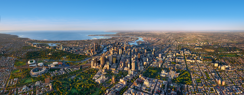 Melbourne Mornings - Panoramic