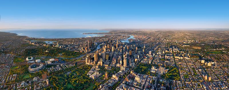 Melbourne Mornings - Panoramic