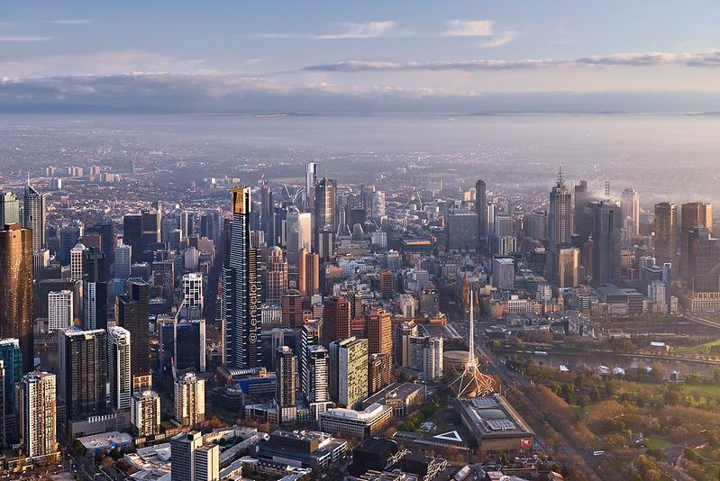 Melbourne Morning - Southbank