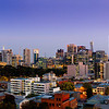 "Rising with the moon. A hero panorama captured above West Melbourne to showcase an upcoming development in West Melbourne. The most common question I receive on this one would have to be ""Is the moon real?"". Answer: YES it most definitely is."