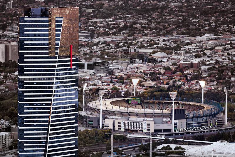 Eureka overlooking MCG - Melbourne