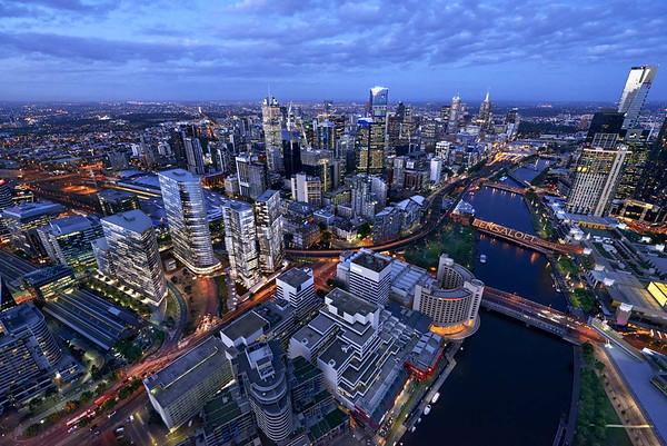 Melbourne Quarter - Hero Aerial