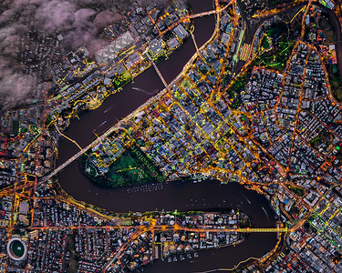 Brisbane City Vertical Aerial