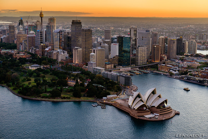 Twilight photography for a client over Sydney. Beautiful city... shame I can't say the same for the increasingly hectic air traffic conditions.