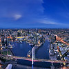 Docklands Melbourne - Aerial Panorama