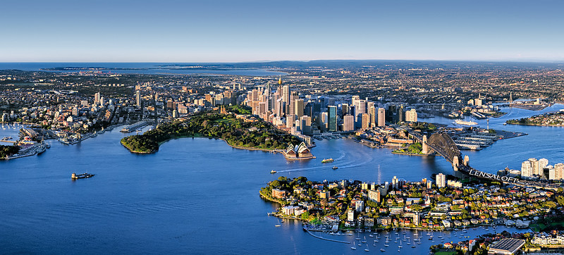 Sydney Aerial Panorama
