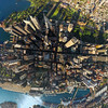 Lensaloft over Sydney CBD