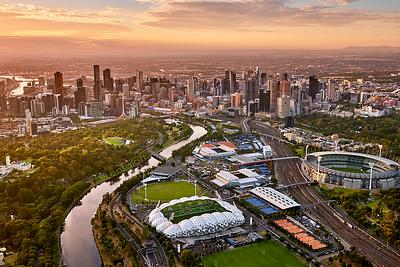 Australian Open Finals - Melbourne sport precinct