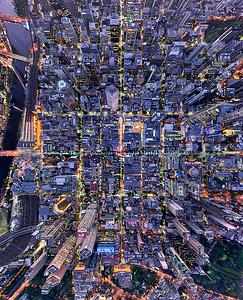 Lighting up the grid - Melbourne