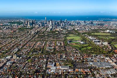 Brunswick, Melbourne - Context image