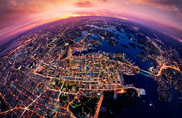 Sydney + 4,000ft