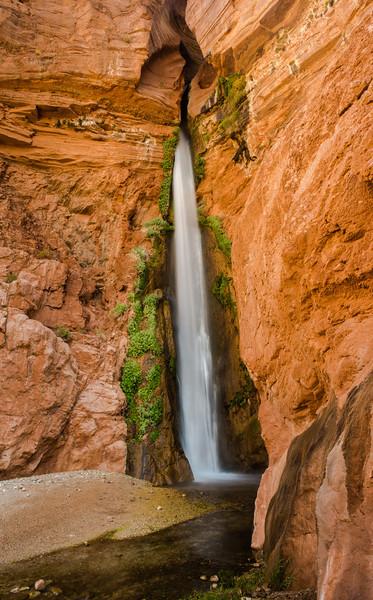 Deer Creek Falls<br /> River Mile 136, Colorado River, Grand Canyon National Park<br /> 2014