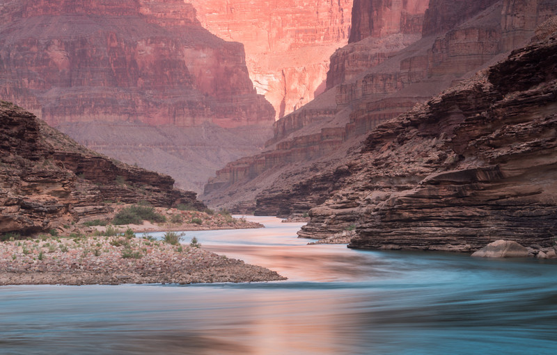 Conquistador Aisle #2<br /> River Mile 120, Colorado River, Grand Canyon National Park<br /> 2014