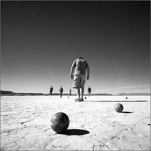 Desert walk off