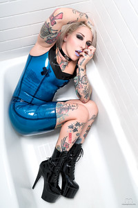 Latex in Blue