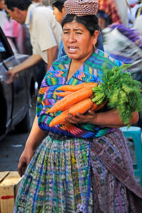 central market, Antigua